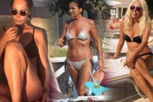 40 yaşını geride bırakan ünlü isimlerin bikinili pozları