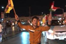 HaşdiŞabi'ninbazı bölgelerden çekilmesi Erbil'de sevinç yarattı