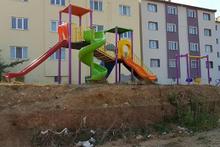 Çocuk parkı aileleri isyan ettirdi: Görenleri şaşırtan kaydırak!