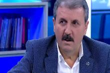 Mustafa Destici'den canlı yayında Kerkük türküsü