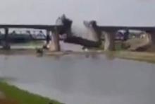 Kerkük'ten kaçan peşmerge tarihi köprüyü patlattı
