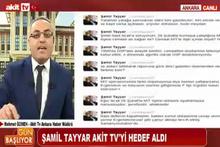 Şamil Tayyar'la Akit TV Müdürü' birbirine girdi! Şok suçlamalar...