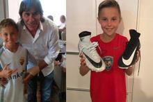 Roma, 10 yaşındaki Alessandro Cupini'yi akademisine kattı!