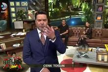 Cenk Tosun Beyaz Show'a bağlandı