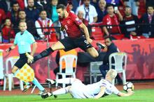 Türkiye-İzlanda maçından fotoğraflar