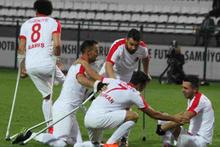 Türkiye Ampute Milli Futbol Takımı finale yükseldi