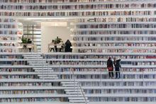 Daha önce hiç böyle bir kütüphane görmediniz gözlerinize inanamayacaksınız!