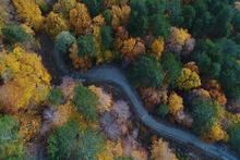 Kazdağları'nda muhteşem sonbahar