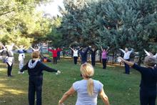 Türkiye'de bir ilk! Güne spor yaparak başlıyorlar