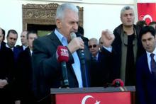 Başbakan Yıldırım: 'Müslümanların mabedi yıkılır mı kardeşim'