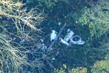 Korkunç kaza: Uçak ve helikopter çarpıştı; evin üzerine düştü!