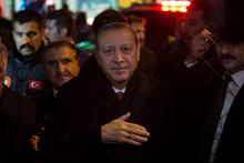 Cumhurbaşkanı Erdoğan, hemşehrilerine hitap etti