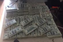 Sahte 1 milyon doların ele geçirildiği operasyon kamerada