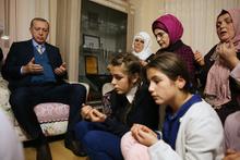 Cumhurbaşkanı Erdoğan, Eren Bülbül'ün ailesini ziyaret etti!