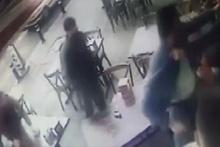 Fatih'te 'İnsan kaçakçısı' dehşeti kamerada