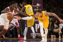 Lakers Bulls'u evinde devirdi