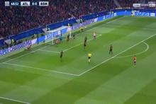 Griezmann'dan Roma ağlarına müthiş vole golü