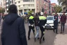 Adıyaman'da izinsiz yürüyüşe polis müdahalesi