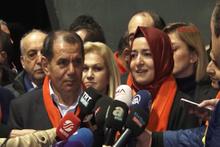 Dursun Özbek ve Bakan Kaya'dan kadına şiddet mesajları