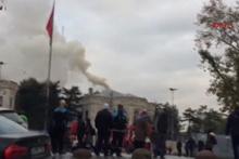 İstanbul Üniversitesi'nde büyük yangın!