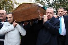 Erdoğan'dan sınıf arkadaşına son görev