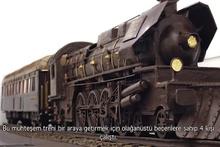 3 bin kalıp çikolatadan tren yaptılar