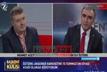 MHP Genel başkan Yardımcısı Oktay Öztürk 'BBP'yi FETÖ kurdu' dedi.