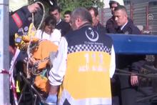 Kadıköy'de iş kazası: 2 yaralı