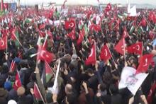 Kudüs için on binler Yenikapı'da büyük miting