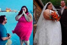 Ameliyat olmadan 200 kilo verdiler!