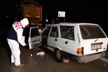 Alkollü otomobiln sürücüsü TIR'a çarptı: 2 ölü, 1 yaralı
