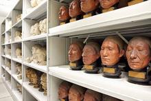 Skandal görüntüler gerçek kafalarla müze açtılar!
