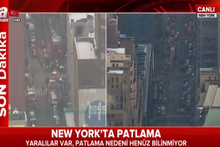 New York'ta patlama sonrası görüntüler!