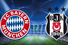 Bayern Münih-Beşiktaş maçı oranları belli oldu