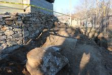 Kanalizasyon inşaatından tarih çıktı!
