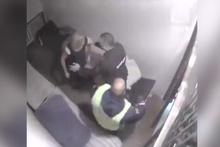 Sarhoş kadın polise kafayı yedirtti!