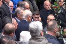 Mesut Yılmaz'ın oğlu Yavuz Yılmaz son yolculuğuna uğurlandı
