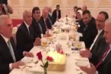 Başbakan Yıldırım'a Nahçıvan'da doğum günü sürprizi