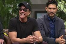 Beyaz Show'da Jean Claude Van Damme'a Erik Dalı sürprizi!