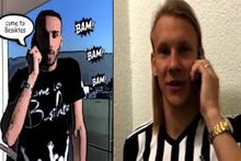 Beşiktaş'tan Vida için 'Come to Beşiktaş' videosu
