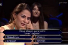 Kim Milyoner Olmak İster yarışmasında ekranlara kilitleyen soru