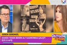 Hande Yener Seren Serengil'in çıplak fotoğrafını paylaştı ortalık karıştı!