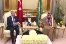Başbakan Yıldırım, Suudi Arabistan Kralı Selman bin Abdulaziz ile bir araya geldi