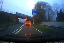 Yüksekliği unutan traktör sürücüsünde feci kaza