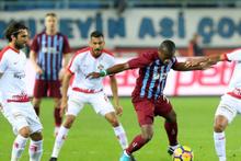 Trabzonspor Antalyaspor maçı fotoğrafları