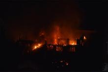İstanbul'da korkutan yangın: Kilometrelerce öteden görüldü!