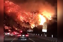 Kaliforniya yanıyor