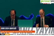 Yıldırım Demirören açıkladı: Türkiye EURO 2024 için aday...