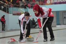 Curlingde Rusları yendik yarı finale çıktık