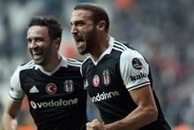 Beşiktaş-Akhisar Belediyespor maçından kareler